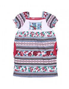 Платье для девочек славянский орнамент